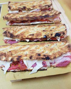 Schiacciatina con Bacon 4.00€